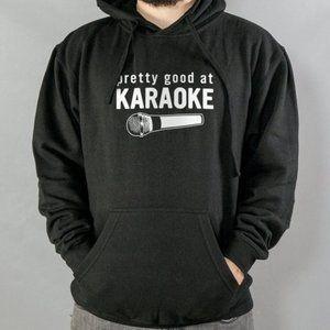 Good At Karaoke Hoodie black style